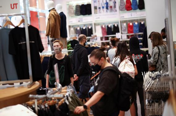En imagen, tienda de ropa