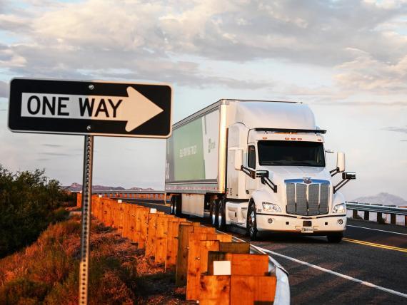 Empresa de camiones autónomos TuSimple.