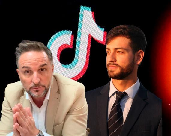 El abogado Xavi Abat y Andrés Millán, Lawtips en su perfil de Tiktok e Instagram.