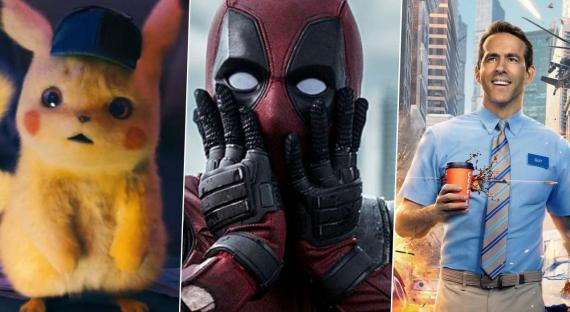 las 17 mejores películas protagonizadas por Ryan Reynolds