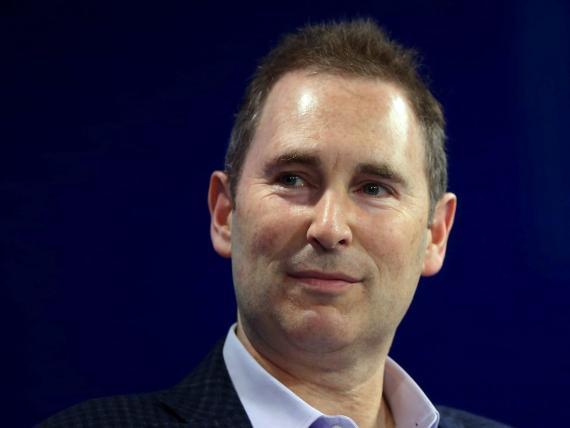 Andy Jassy, CEO de Amazon y ex director general del negocio en la nube (AWS).