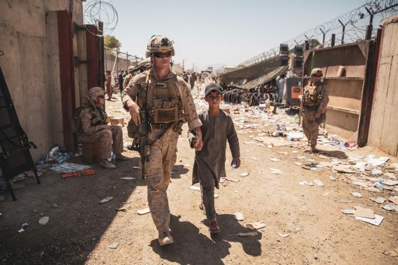 Evacuación de afganos