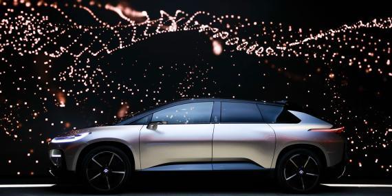 Faraday Future ha luchado durante 7 años para poner en producción su vehículo eléctrico de lujo FF 91.