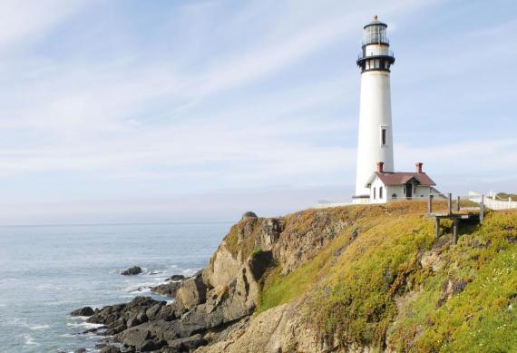 Faro de Pigeon Point, Pescadero, California, Estados Unidos