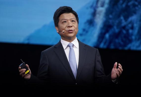 Gou Ping, presidente de Huawei.