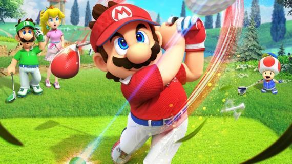 Juegos como 'Mario Golf: Super Rush' (imagen) no han conseguido impulsar tanto las ventas de Switch como éxitos del pasado.