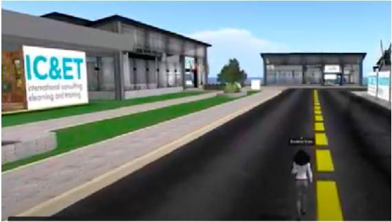 Captura de pantalla de la plataforma virtual propuesta por el ESIC y la Universitat Jaume I.