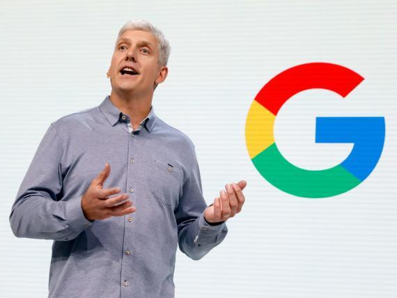 Rick Osterloh, vicepresidente senior de dispositivos y servicios de Google