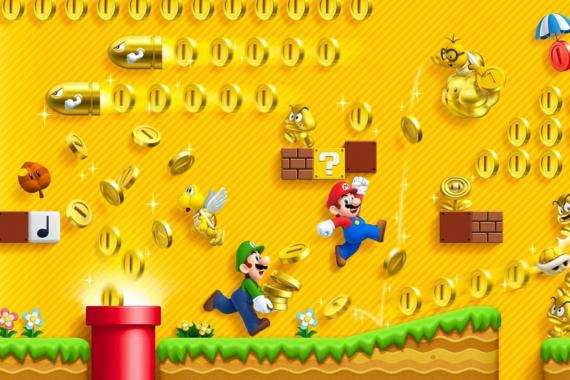 Super Mario Bros. dinero