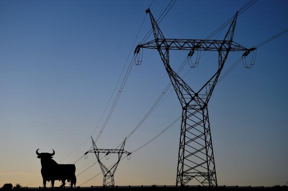Tendido eléctrico en España