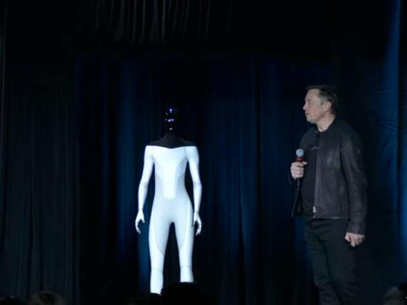 Elon Musk presenta Tesla Bot, un robot humanoide que llegará en 2022 |  Business Insider España