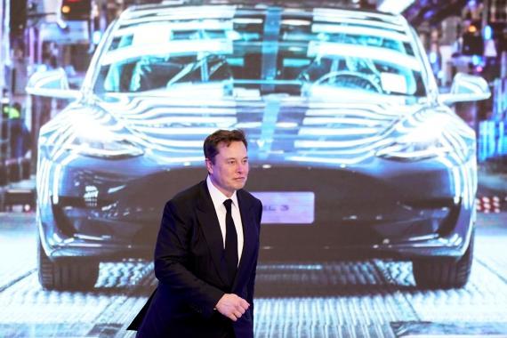 Elon Musk, fundador y director de Tesla. Aly Song/Reuters