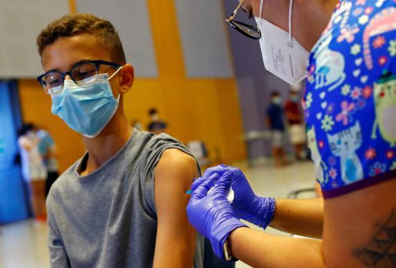 Vacuna Moderna en niños