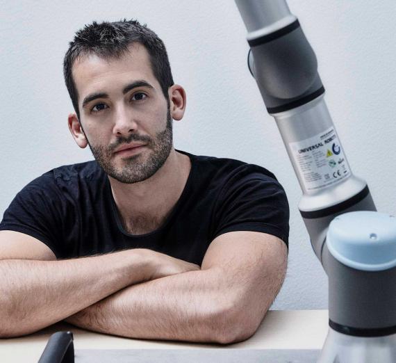Víctor Mayoral Vilches, director técnico y cofundador de Alias Robotics