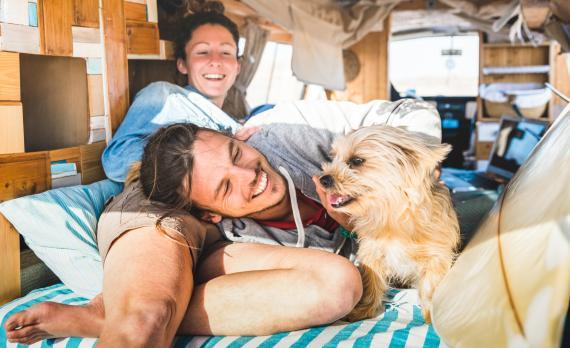 Vida en furgoneta camper