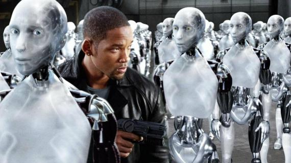 'Yo, robot'.