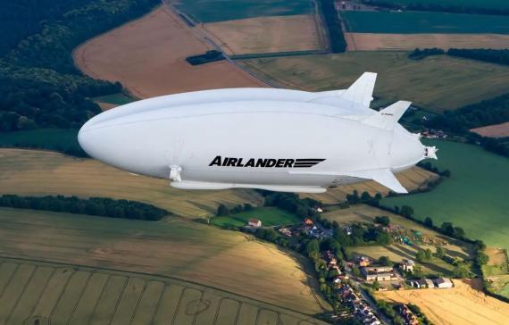 Representación del Airlander 10.