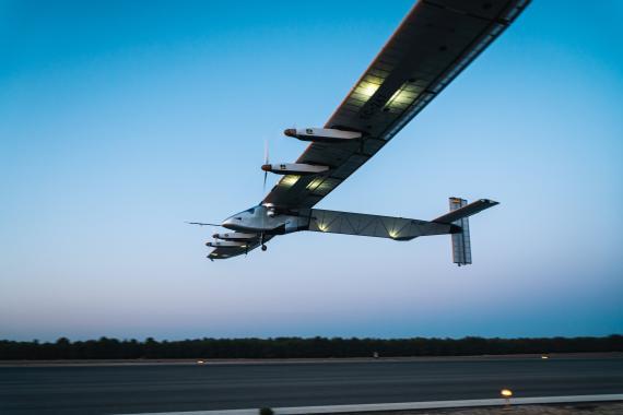 Avión propulsado por energía solar de Skydweller.