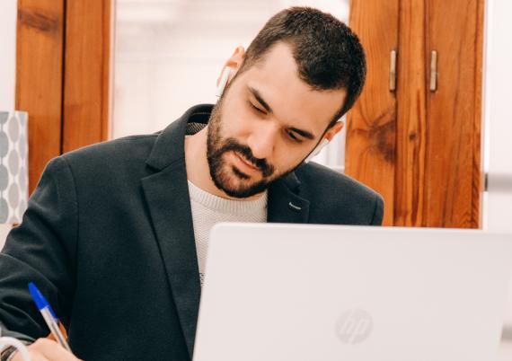 Benjamín Sanchis, CEO de Bitstartups.