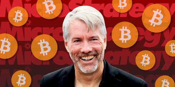El director general de MicroStrategy, Michael Saylor, está apostando a lo grande por el bitcoin.