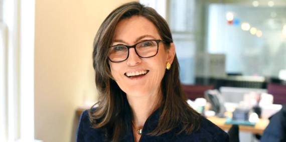 La directora ejecutiva de Ark Invest, Cathie Wood.