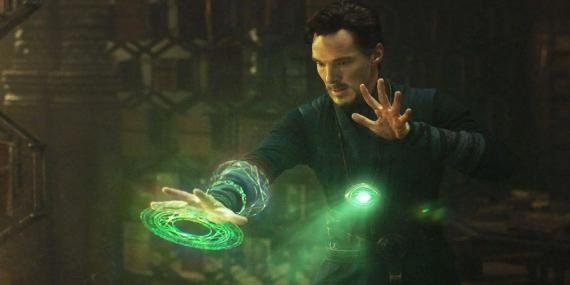 Fotograma de la película de Marvel 'Doctor Strange'.