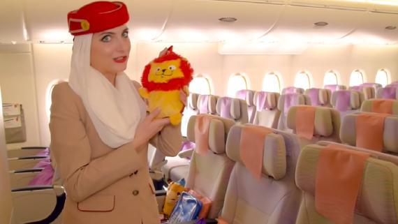 Emirates presenta su app de RV para ver el A380.