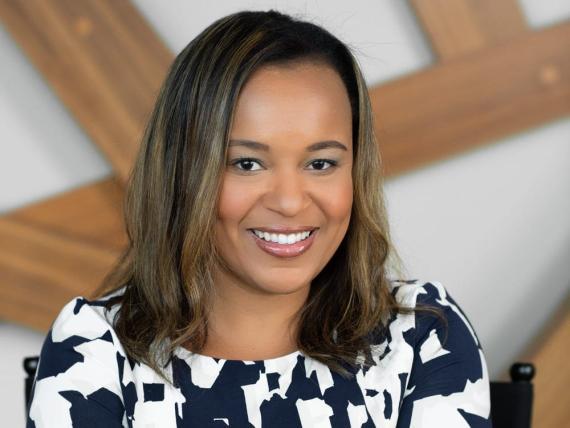 La jefa de startups y acuerdos de capital riesgo de Google EMEA, Rachael Palmer.