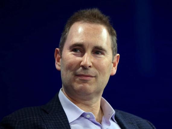 Amazon CEO Andy Jassy.