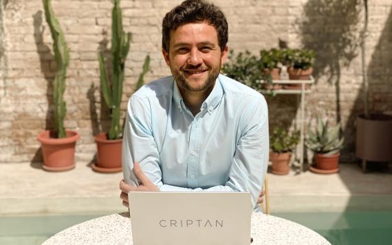 Jorge Soriano Lázaro, cofundador y CEO de Criptan