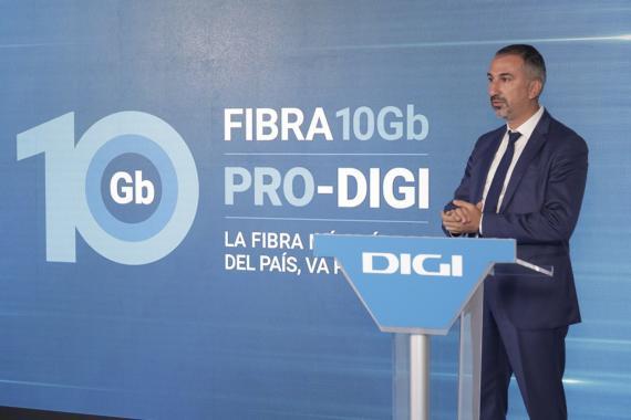 Marius Varzaru, consejero delegado de Digi en España.
