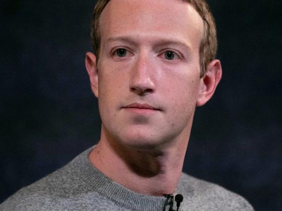 Mark Zuckerberg, CEO de Facebook, en Nueva York el viernes 25 de octubre de 2019.