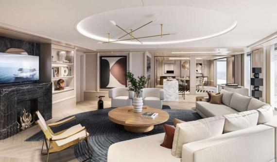 Suite de Regent Seven Seas.