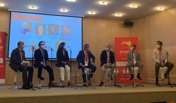 """Debate """"Fondos de fondos y otros fondos"""", en Startup Olé 2021."""