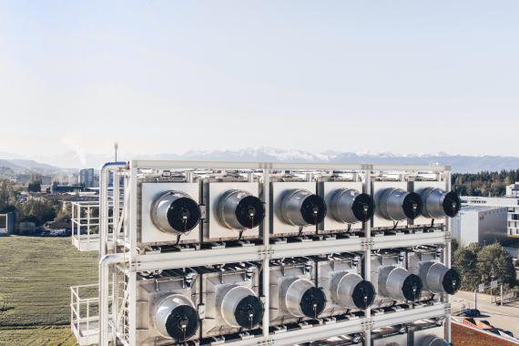 Climeworks ha abierto la planta de succión de carbono más grande del mundo en Islandia.