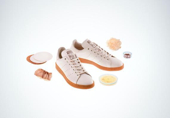 Zapatillas de cuero a base de hongos