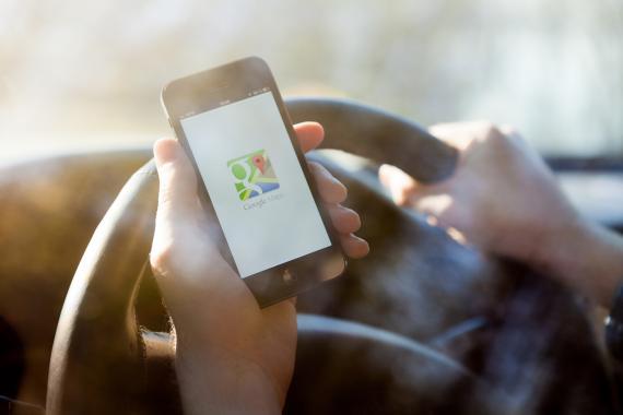 La aplicación de Google Maps