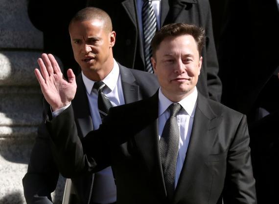Elon Musk, CEO de Tesla y SpaceX. Reuters