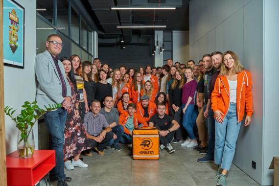 Equipo de la startup ucraniana Rocket