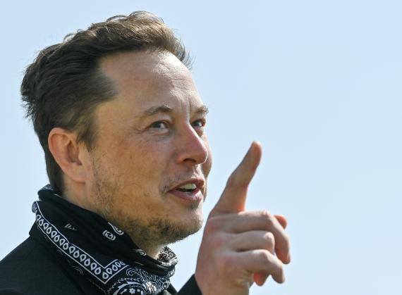 El fundador de Tesla, Elon Musk.