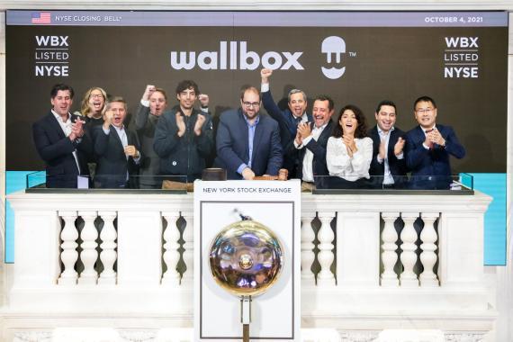 Los fundadores y ejecutivos de Wallbox tocan la campaña de la Bolsa de Nueva York