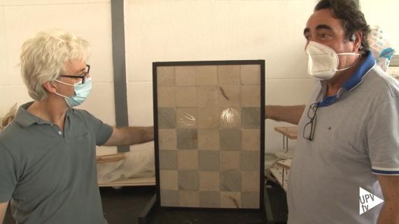 Imagen del vídeo en el que los 2 investigadores de la UPV presentan HTRANS.