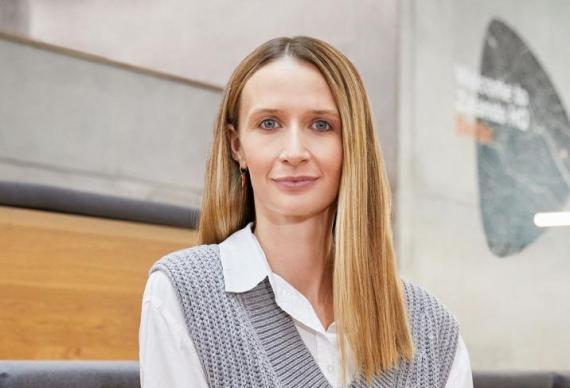 Laura Coppen, directora de Circularidad de Zalando,
