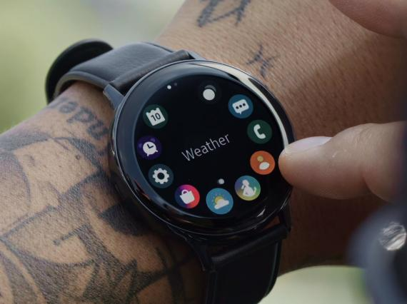 Nuevo smartwatch Galaxy Watch Active2 con bisel táctil y electrocardiograma