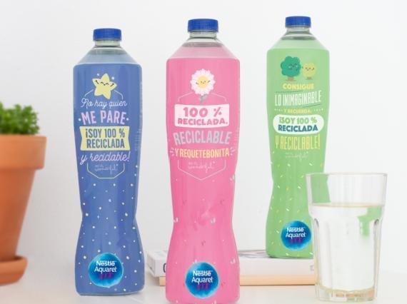 Nestlé Aquarel reciclable