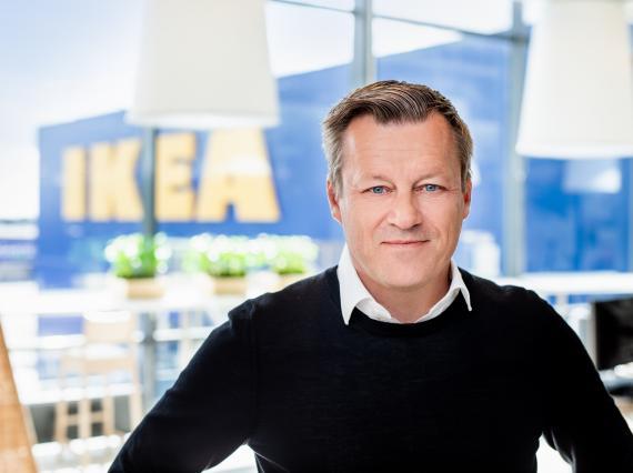 El CEO de Ikea, Jesper Brodin.