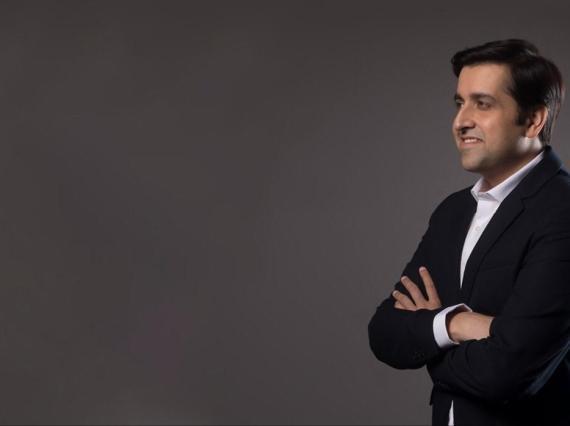 El CEO de Realme en India y Europa, Madhav Sheth.