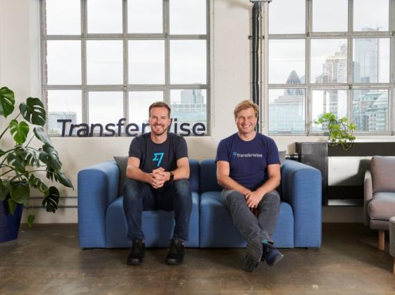 Taavet Hinrikus y Kristo Käärmann, cofundadores de TransferWise.