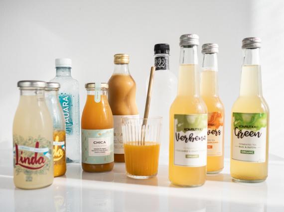 Bebidas saludables creadas en España