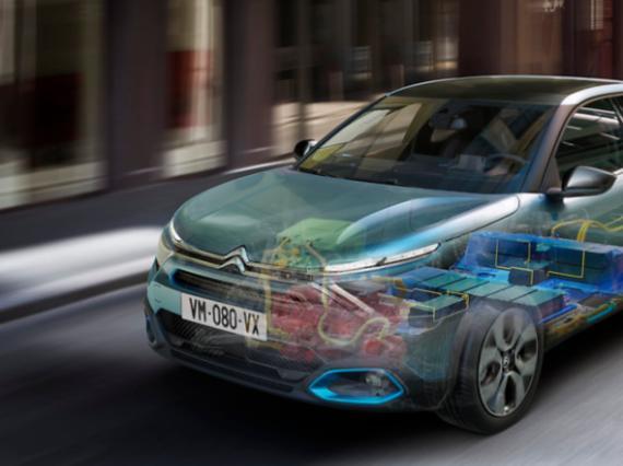 Citroën ëC4 motor eléctrico